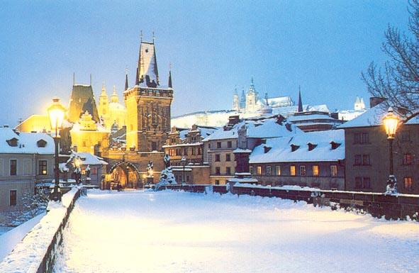 Praha V Zime Prague In Winter